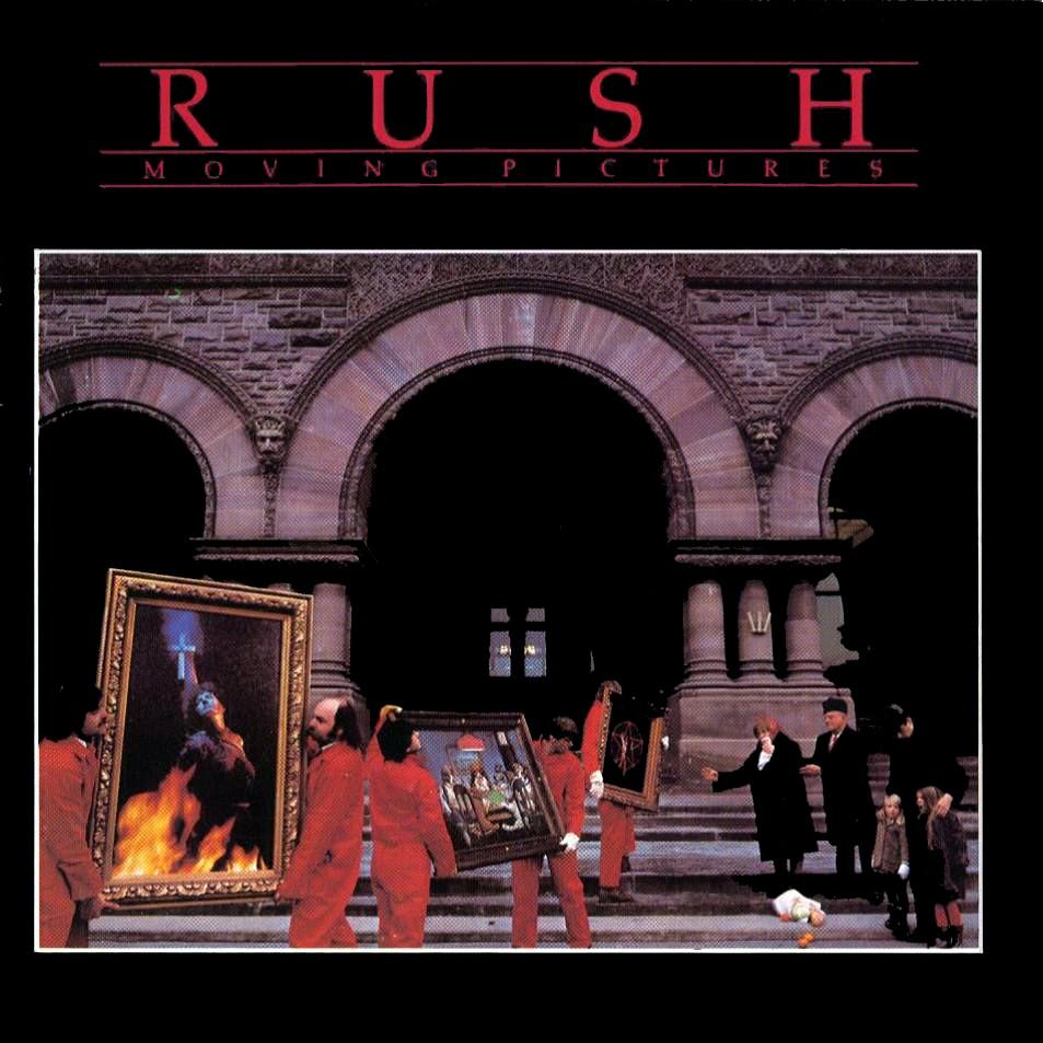 Grant aldred rush 39 s moving pictures album cover - Rush album covers ...