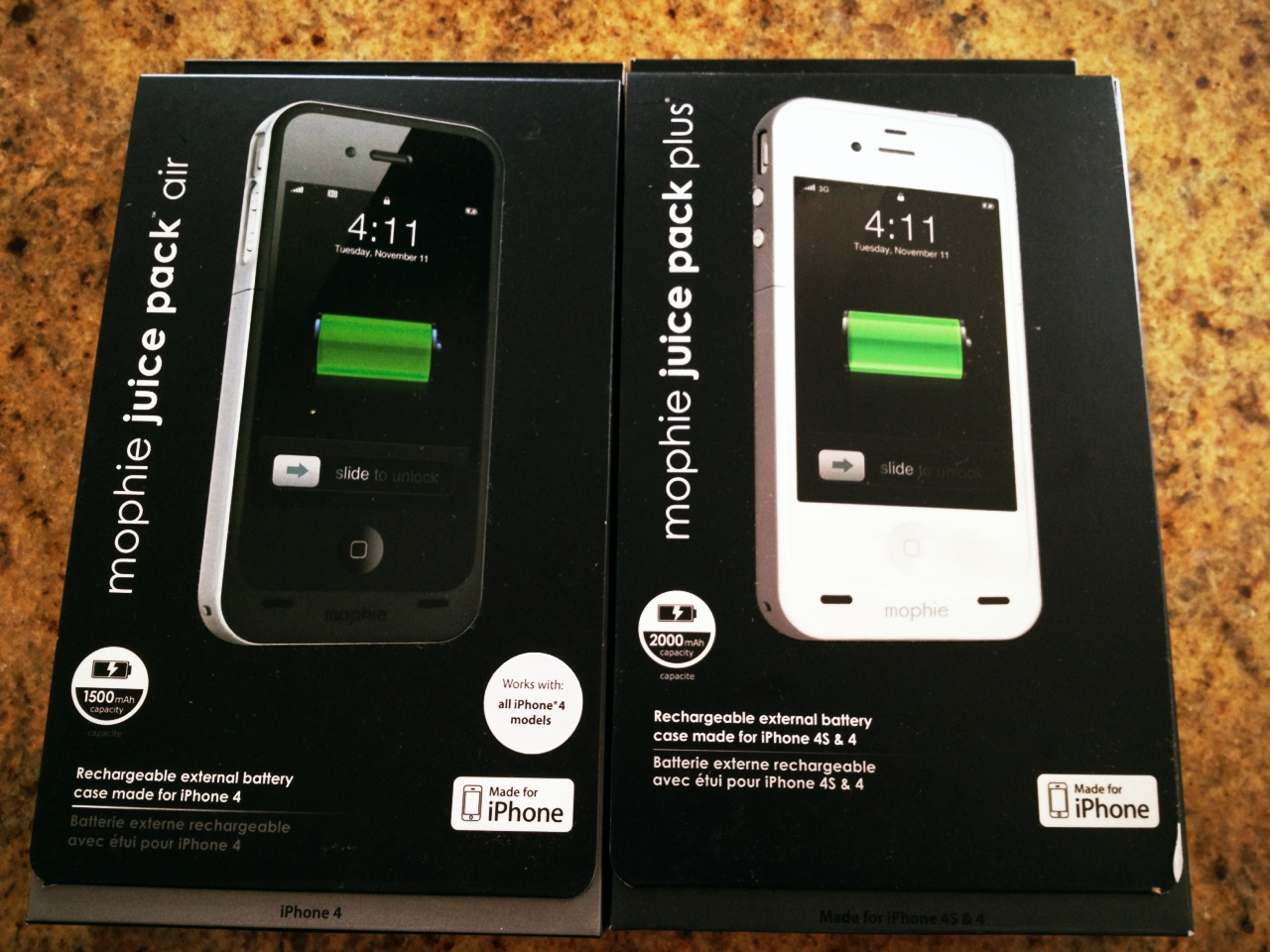 online store c2c5e 89b42 Mophie Juice Pack Plus iPhone 4 & 4S Battery Case Review @Mophie