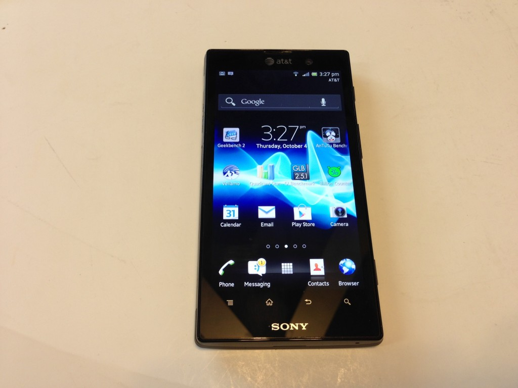 Sony Xperia Ion Android 4.04 Update Review