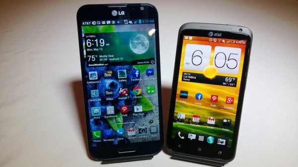 HTC One vs HTC One X Which Is Faster Better Benchmark? #attmobilereview - The Chris Voss Show