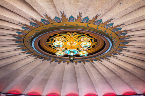 Catalina Island Avalon Dance Hall Ceiling Chris Voss Photography-0000