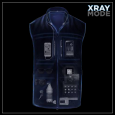 Scottevest.com #1 selling travel vest just got personal with the added feature of an RFID-blocking pocket to protect your valuables from high-tech skimmers that can steal your identity. Our advanced...