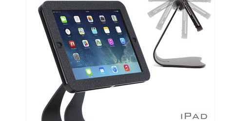 Thoughtout.biz The iPad POS Stand, EnCloz for iPad, iPad Air & iPad mini will provide you with an enclosed POS, KIOSK or tamper resistant display, while allowing access to controls...