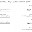 Ampedwireless.com The TAP-EX High Power Touch Screen Wi-Fi Range Extender extends the range of any 802.11b/g/n Wi-Fi network with the tap of your finger. It works by repeating the signal...