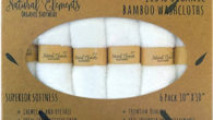 Amazon.com About the product – Bamboo – PREMIUM NATURAL BAMBOO WASHCLOTHS — High quality pack of 6 bamboo baby washcloths in timeless white. Made from durable, eco-friendly, and antibacterial bamboo....