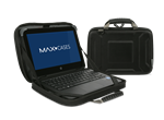 "MaxCases.com Key Features: Stylish and lightweight, this ""Always-On"" case allows you to work directly from your case keeping it safe ""Always"" Keep your laptop secure with its non-scratch tech grip..."