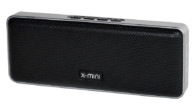 X-mini.com A pocket-sized classic. Designed for convenience, the X-mini™ XOUNDBAR is made of light-weight material and audio power to fit in the pocket. Housing two full-range stereo audio drivers in...