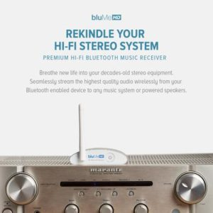 Auris bluMe HD Bluetooth 5 0 Music Receiver with Audiophile DAC and