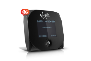 Virgin Mobile Overdrive Pro 3G/4G Mobile Hotspot Speed Test