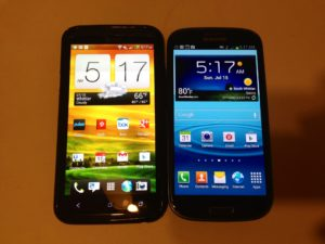 HTC One X vs. Samsung Galaxy S3 Comparison Review #Attmobilereview @Att