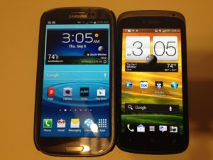 Samsung Galaxy S3 vs. HTC One S Review