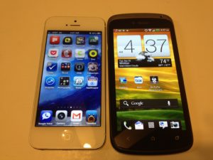 iPhone 5 vs. HTC One S Review