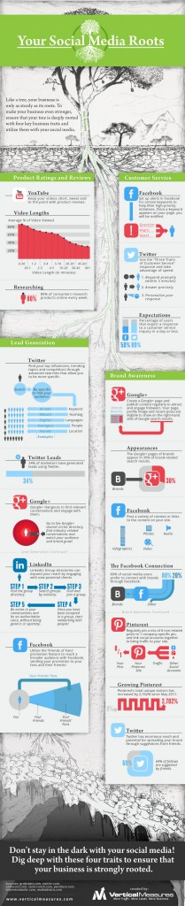 Your Social Media Roots Infographic - The Chris Voss Show