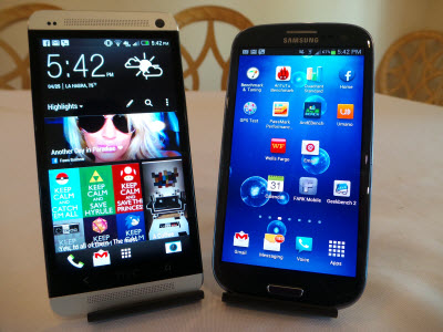 HTC One vs Samsung Galaxy S3 #attmobilereview - The Chris Voss Show