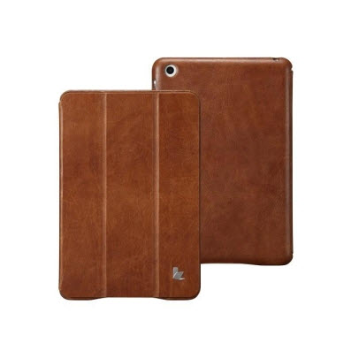 Jison Case Vintage Leather Smart Case for iPad Mini Review @jisoncase - The Chris Voss Show