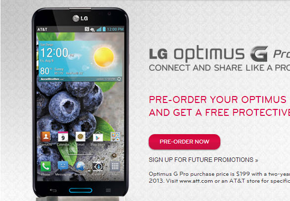 LG Optimus G PRO Review #attmobilereview - The Chris Voss Show