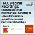 Get your key findings, poll results and audio recording from Useful Social Media's 'How To Embed Social Across Your Business' one-hour webinar here http://bit.ly/16D3B8z Learn 'How to embed social across […]