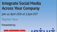 70% of C-suite executives say social represents an opportunity to fundamentally transform their business for the better. In this FREE webinar, learn how to map out your corporate social infrastructure...