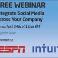 70% of C-suite executives say social represents an opportunity to fundamentally transform their business for the better. In this FREE webinar, learn how to map out your corporate social infrastructure […]