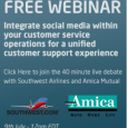 Develop the right infrastructure to support social customer service which is taken away from Marketing during this 40 minute webinar with Southwest Airlines, Conversocial and Amica In this webinar you […]