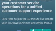 Develop the right infrastructure to support social customer service which is taken away from Marketing during this 40 minute webinar with Southwest Airlines, Conversocial and Amica In this webinar you...
