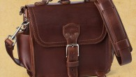 Saddlebackleather.com Product Details: Dark Coffee Brown now shipping with lighter colored pigskin Makes a great range or field bag or for exploring a city Converts to a backpack Made of...
