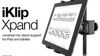 IKmultimedia.com Expand your tablet support universe! It's every musician's nightmare: You're on stage. You're performing. But then something goes terribly wrong and your tablet — which you're using to perform...