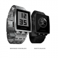 Get.pebble.com Tech Specs DIMENSIONS Case: 46mm L × 34mm W × 10.5mm T Weight: 56g / 1.97oz (including standard band) WIRELESS Bluetooth 4.0 DISPLAY 1.26-inch, 144 × 168 pixel e-paper […]