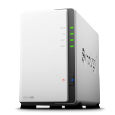Synology.com A budget-friendly, personal cloud With a sleek design, DS214se is a special edition 2-bay NAS providing beginners an affordable network storage, along with the capability to host, share, and...