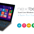 Nextbookusa.com Bigger and better than ever, the Nextbook Flexx 11 tablet is the enhanced tablet you've been looking for. With an 11.6-inch screen, 16:9 aspect ratio and 1366×768 resolution (IPS),...
