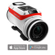 TomTom.com HD Video (up to 4k) & 16 MP photo 3h non-stop filming with cable-free Batt-stick Built-in sensors (Speed, G-force, Altitude, Rotation, Heartbeat*) Edit and share your movie instantly with...