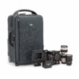 Thinktankphoto.com Designed for carry on compatibility, the customizable interior allows you to get the maximum amount of video gear on the plane with you. Built tough with the quality Think...