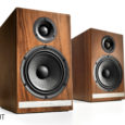 """Audioengineusa.com Features Custom 5.5"""" Kevlar woofers with die cast aluminum woofer baskets Custom 1"""" silk tweeters with neodymium magnets and ferrofluid-cooled voice coils Hand-built cabinets with furniture-grade finishesDetachable magnetic speaker..."""