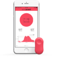 Sen.se ThermoPeanut simply connects to your smartphone using Bluetooth Smart. Using the SensePeanut companion app, you can check the current temperature or history.