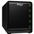 Drobo.com Specifications Connectivity 2 x Thunderbolt 3 ports; second port for daisy chaining Thunderbolt devices, including 5K and dual 4K displays (Mac OS X only) 1 x USB 3.0, Type-C...