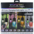 Enbrightenme.com Features Remote controlled color-changing bulbs Impact resistant Save energy, Save money Flexible mounting options Connect multiple strings Year-round Tech Specs 24 Feet 12 Bulbs 24″ Spacing between bulbs Lifetime […]