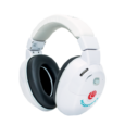 Lucidaudio.com COMMUNICATE WITH THE TOUCH OF A BUTTON No need to take the Kids HearMuffs Trio on and off each time you want to communicate with your child. Simply press...