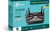 tp-link.com Features: Ultra-Fast Processing–An 1.8 GHz 64-bit quad-core CPU handles all your processing needs 4000 Mbps WiFi Speed–1625 Mbps on both 5G bands and 750 Mbps on 2.4G band* No […]