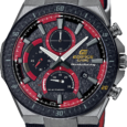 Casio.com Embracing the speed and force of the Honda Racing team, the new EDIFICE EFS560HR sports a bold look. Its black Cordura band and red accents match the signature colors […]