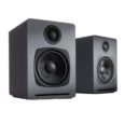 """Audioengineusa.com GENERAL SPECIFICATIONS Amplifier type Dual class D Power output 60W peak power total (15W RMS / 30W peak per channel), AES Drivers 2.75″ aramid fiber woofers, 3/4"""" silk dome […]"""